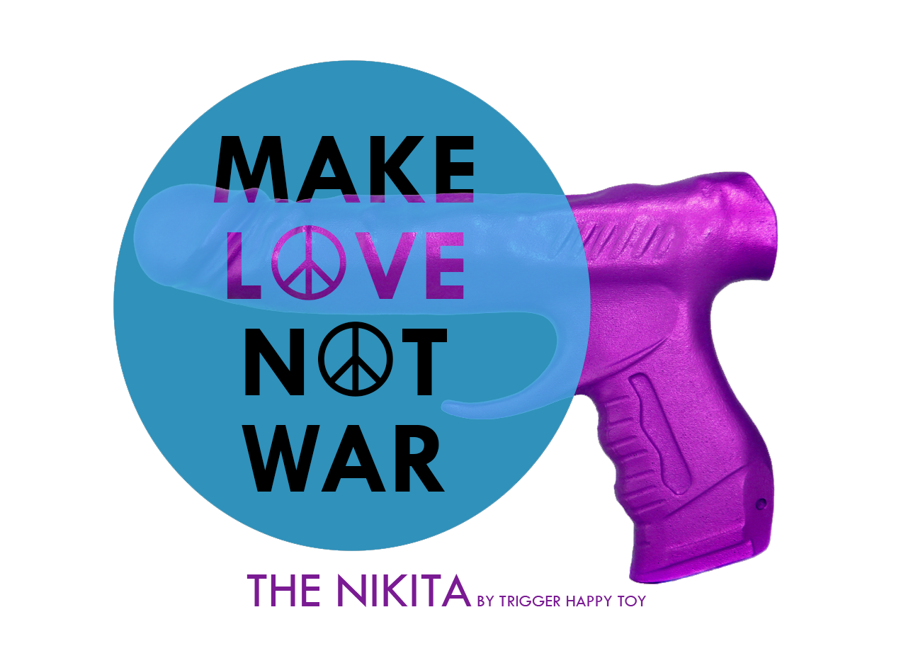 Make love not war: the Nikita, by Trigger Happy Toy
